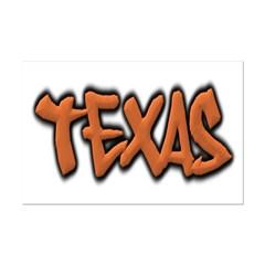 Texas Graffiti Small Posters