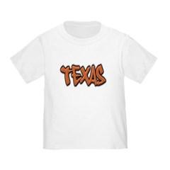 Texas Graffiti Toddler T-Shirt