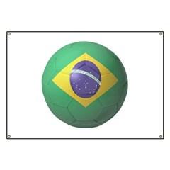 Brazil Soccer Banner
