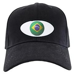 Brazil Soccer Baseball Hat