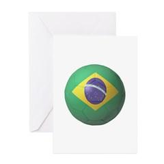 Brazil Soccer Greeting Card