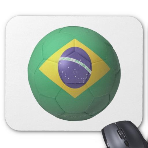Brazil Soccer Mousepad