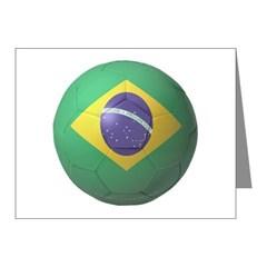 Brazil Soccer Note Cards (Pk of 20)