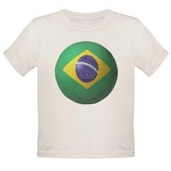 Brazil Soccer Organic Toddler T-Shirt