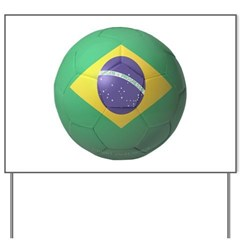 Brazil Soccer Yard Sign