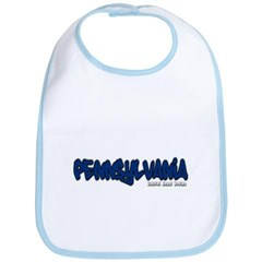 Pennsylvania Graffiti Baby Bib