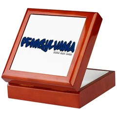 Pennsylvania Graffiti Keepsake Box