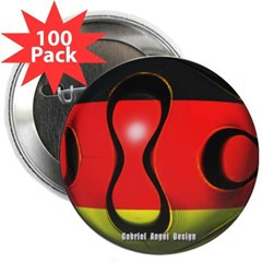 "Germany Soccer 2.25"" Button (100 pack)"