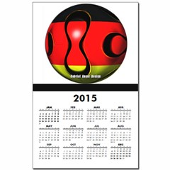 Germany Soccer Calendar Print