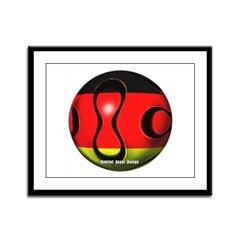 Germany Soccer Framed Panel Print