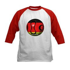 Germany Soccer Kids Baseball Jersey T-Shirt