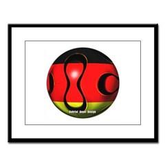 Germany Soccer Large Framed Print