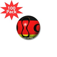Germany Soccer Mini Button (100 pack)