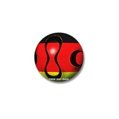 Germany Soccer Mini Button