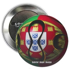 Portugal Soccer Button