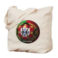 Portugal Soccer Canvas Tote Bag