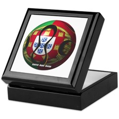 Portugal Soccer Keepsake Box
