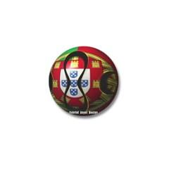 Portugal Soccer Mini Button
