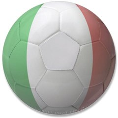 "Italy Soccer 3.5"" Button"