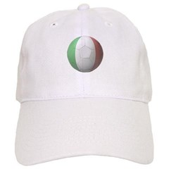 Italy Soccer Baseball Cap