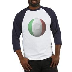 Italy Soccer Baseball Jersey T-Shirt