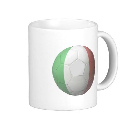 Italy Soccer Classic White Mug