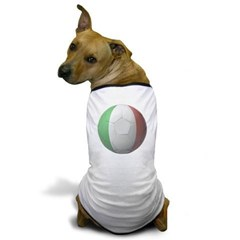 Italy Soccer Dog T-Shirt