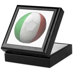 Italy Soccer Keepsake Box