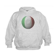 Italy Soccer Kids Sweatshirt by Hanes