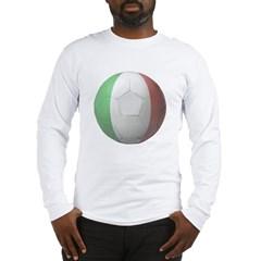 Italy Soccer Long Sleeve T-Shirt