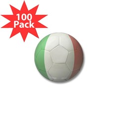 Italy Soccer Mini Button (100 pack)