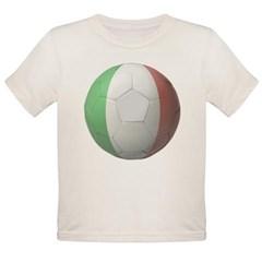 Italy Soccer Organic Toddler T-Shirt