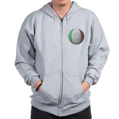Italy Soccer Zip Hoodie