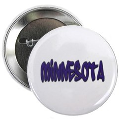 """Minnesota Graffiti 2.25"""" Button"""