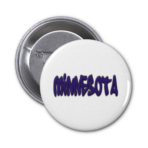 Minnesota Graffiti 2 Inch Round Button