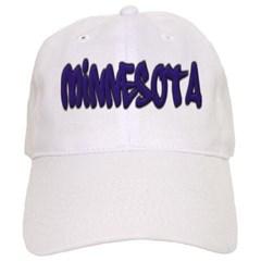 Minnesota Graffiti Baseball Cap