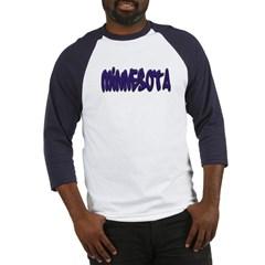 Minnesota Graffiti Baseball Jersey T-Shirt