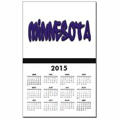 Minnesota Graffiti Calendar Print