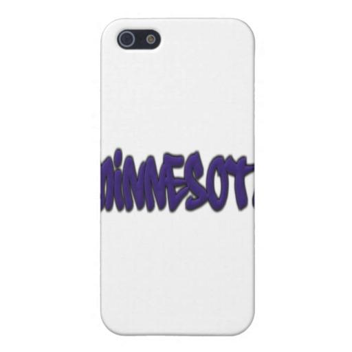 Minnesota Graffiti Case Savvy Matte Finish iPhone 5/5S Case