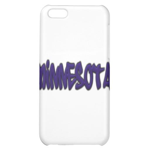 Minnesota Graffiti Case Savvy Matte Finish iPhone 5C Case