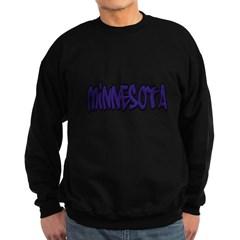 Minnesota Graffiti Dark Sweatshirt