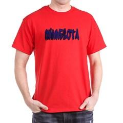 Minnesota Graffiti Dark T-shirt