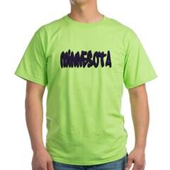 Minnesota Graffiti Green T-Shirt