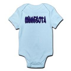 Minnesota Graffiti Infant Bodysuit