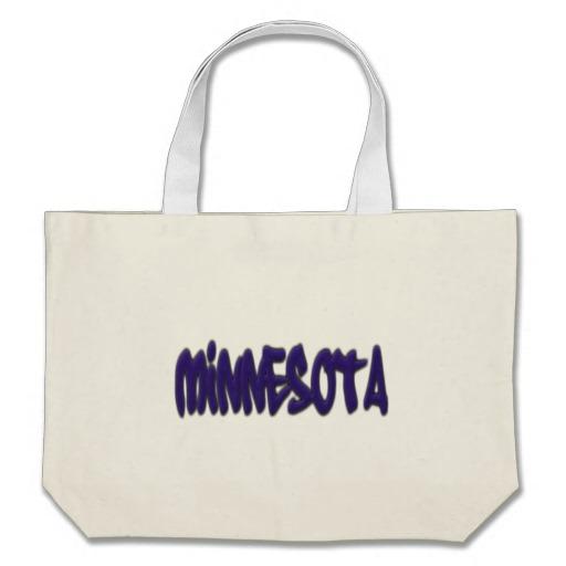 Minnesota Graffiti Jumbo Tote