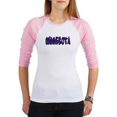 Minnesota Graffiti Junior Raglan T-shirt