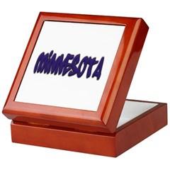 Minnesota Graffiti Keepsake Box