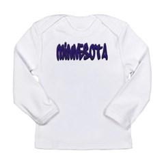 Minnesota Graffiti Long Sleeve Infant T-Shirt