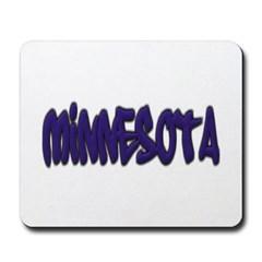 Minnesota Graffiti Mousepad