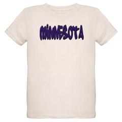 Minnesota Graffiti Organic Kids T-Shirt
